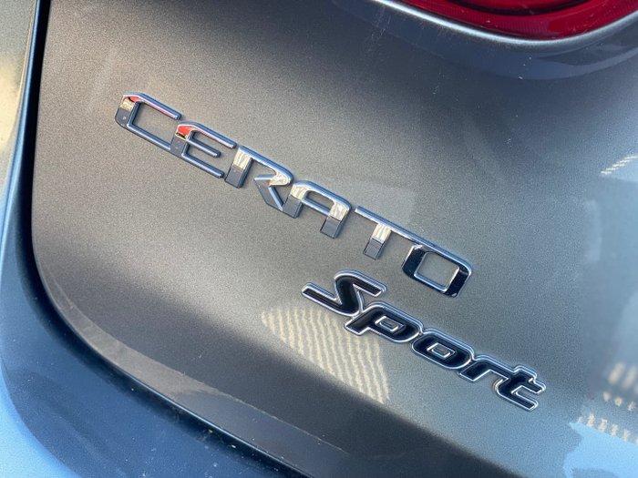 2017 Kia Cerato Sport YD MY18 Silky Silver
