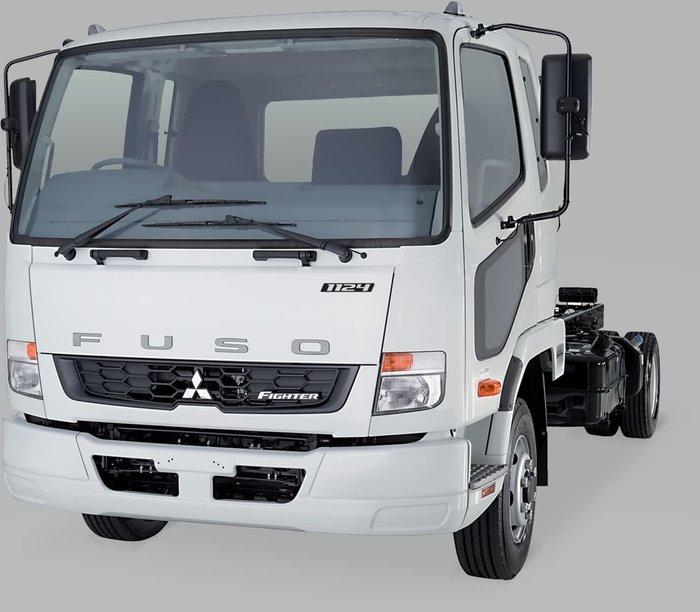 2021 FUSO 1124 - FK62FLY1RFAC White