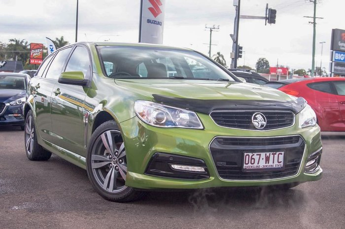 2015 Holden Commodore SV6 VF MY15 Green