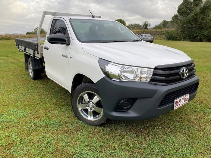 2018 Toyota Hilux Workmate TGN121R White