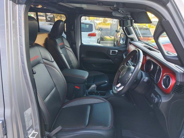 2020 Jeep Wrangler Unlimited Rubicon JL MY20 4X4 Dual Range Grey