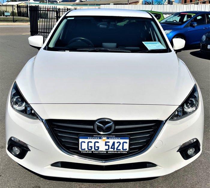 2016 Mazda 3 SP25 BN Series Snowflake White Pearl
