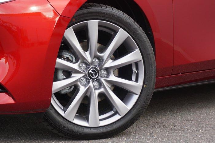 2021 Mazda 3 G25 GT BP Series Soul Red Crystal