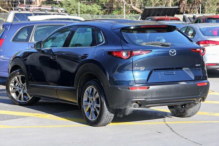 2020 Mazda CX-30 G25 Astina DM Series AWD Deep Crystal Blue