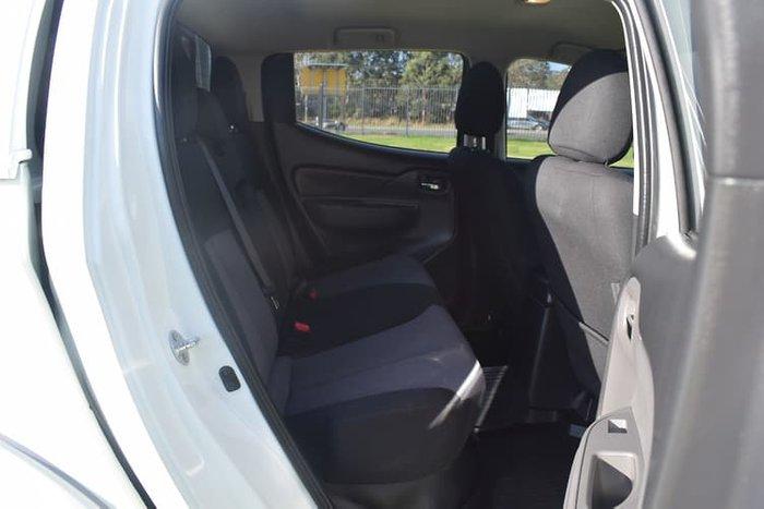2017 Mitsubishi Triton GLX+ MQ MY17 4X4 Dual Range White