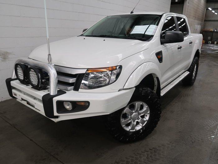 2014 Ford Ranger XLS PX 4X4 Dual Range Cool White