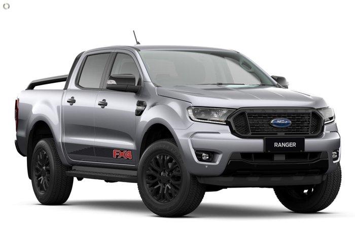 2021 Ford Ranger FX4 PX MkIII MY21.75 4X4 Dual Range Aluminium