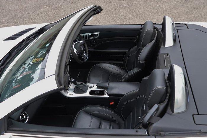 2012 Mercedes-Benz SLK-Class SLK55 AMG R172 White