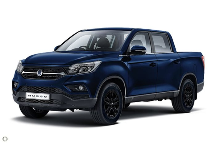 2020 SsangYong Musso Ultimate Q200 MY20.5 4X4 Dual Range Blue
