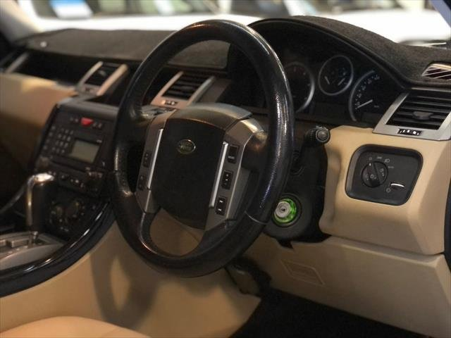2007 Land Rover Range Rover Sport TDV6 L320 MY07 4X4 Dual Range Black