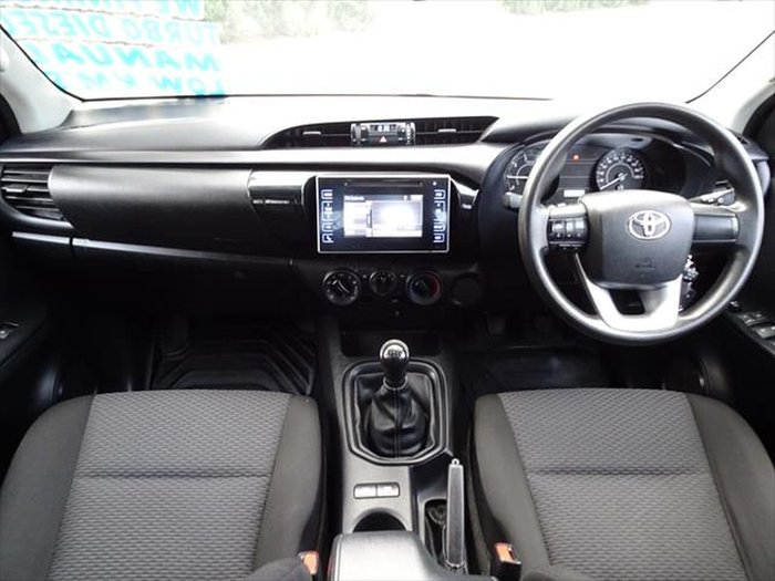 2016 Toyota Hilux Workmate GUN122R White