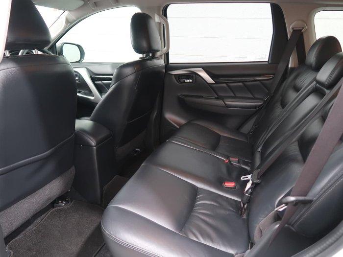 2017 Mitsubishi Pajero Sport Exceed QE MY17 4X4 Dual Range White