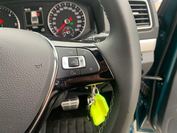 2019 Volkswagen Amarok TDI580 Ultimate 2H MY19 4X4 Constant Peacock Green