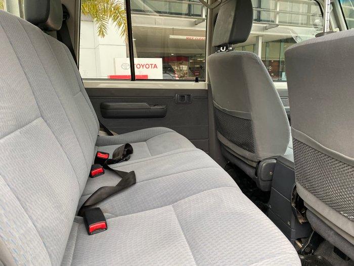 2018 Toyota Landcruiser GXL VDJ79R 4X4 Dual Range French Vanilla