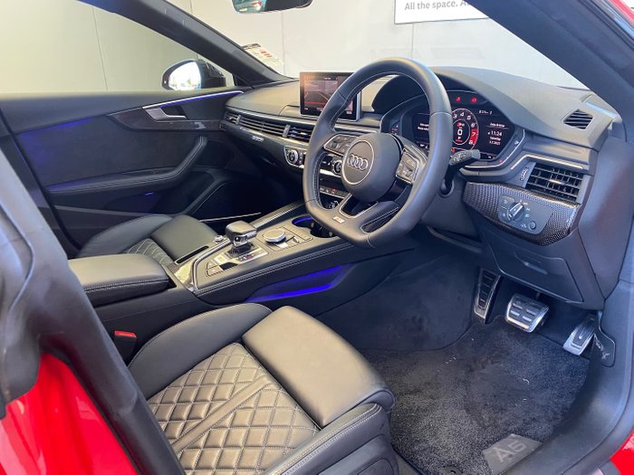 2019 Audi S5 F5 MY19 Four Wheel Drive Misano Red
