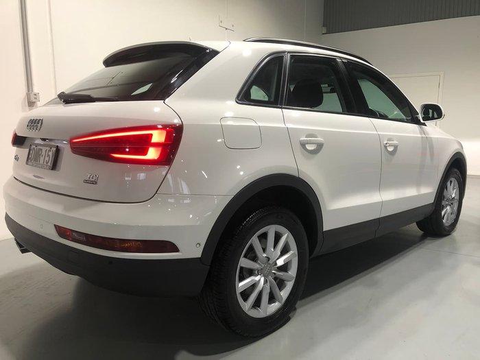 2016 Audi Q3 TDI 8U MY17 Four Wheel Drive White