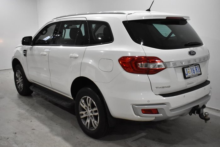 2017 Ford Everest Trend UA Cool White
