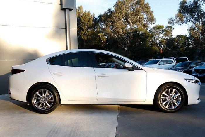 2019 Mazda 3 G20 Pure BP Series Snowflake White Pearl