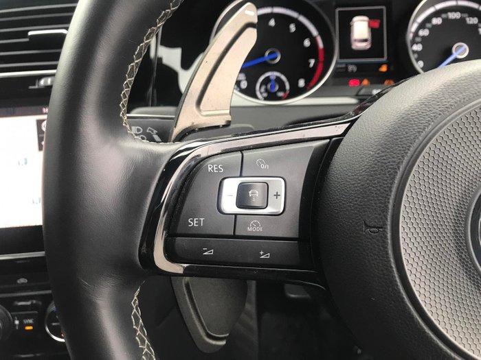 2017 Volkswagen Golf R Grid Edition 7.5 MY18 Four Wheel Drive White Silver