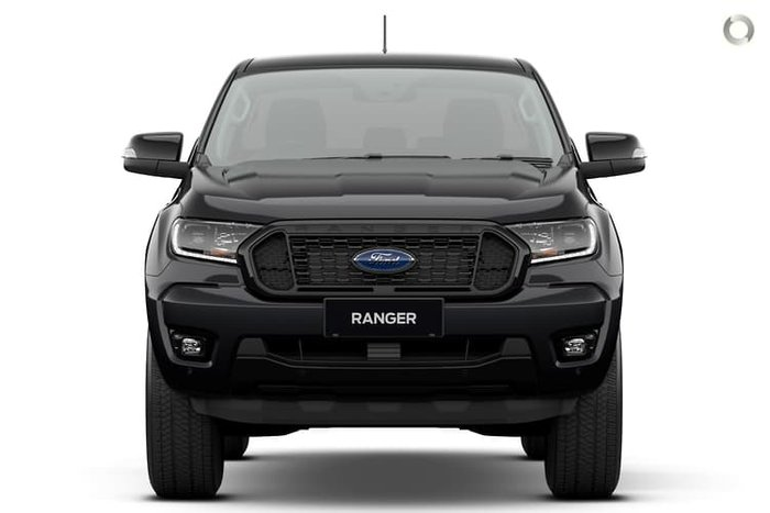 2021 Ford Ranger FX4 PX MkIII Shadow Black