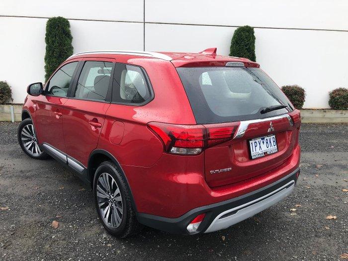 2019 Mitsubishi Outlander ES ZL MY19 Red