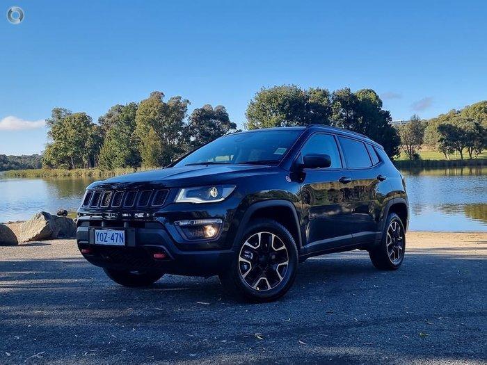 2020 Jeep Compass Trailhawk M6 MY20 4X4 Dual Range Brilliant Black