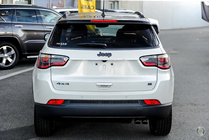 2020 Jeep Compass S-Limited M6 MY20 4X4 On Demand Vocal White