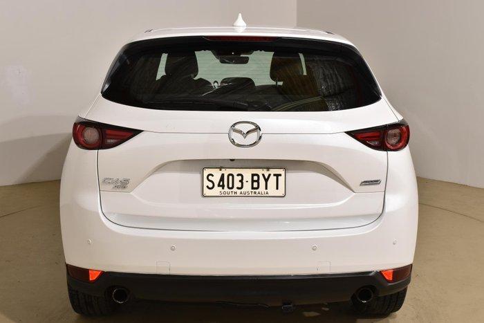 2019 Mazda CX-5 Akera KF Series AWD Snowflake White Pearl