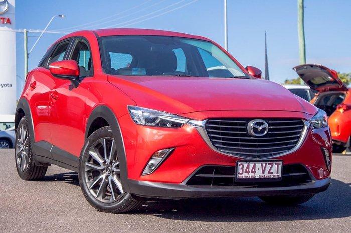 2015 Mazda CX-3 sTouring DK Red