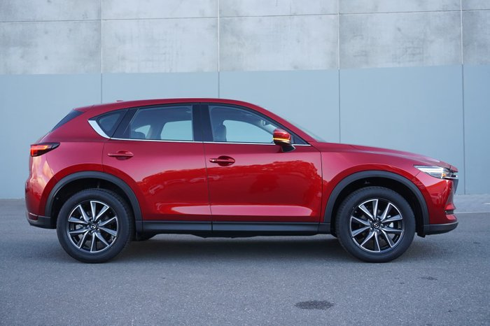 2021 Mazda CX-5 GT KF Series AWD Soul Red Crystal
