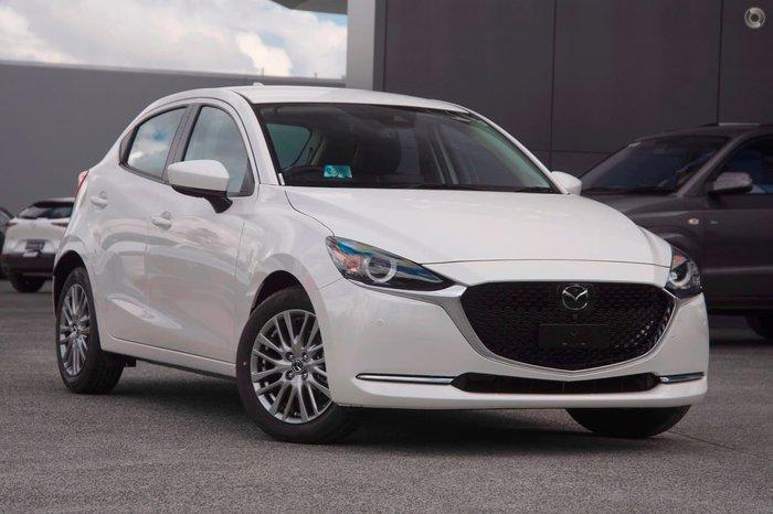 2021 Mazda 2 G15 GT DJ Series White