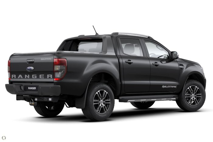 2021 Ford Ranger Wildtrak PX MkIII MY21.75 4X4 Dual Range Shadow Black