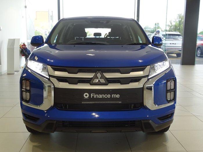 2019 Mitsubishi ASX ES XD MY20 Blue