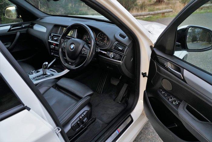 2015 BMW X3 xDrive20d F25 LCI 4X4 Constant White
