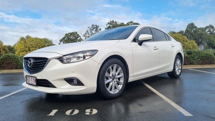 2013 Mazda 6 Touring GJ Snowflake White Pearl