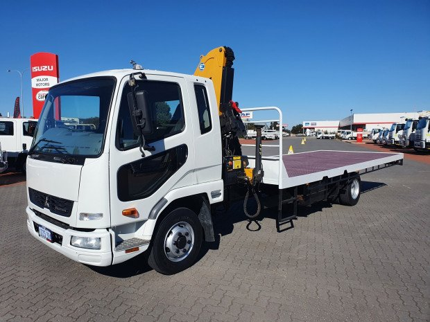 2012 Fuso FK 5.0 Fighter Tray and Crane