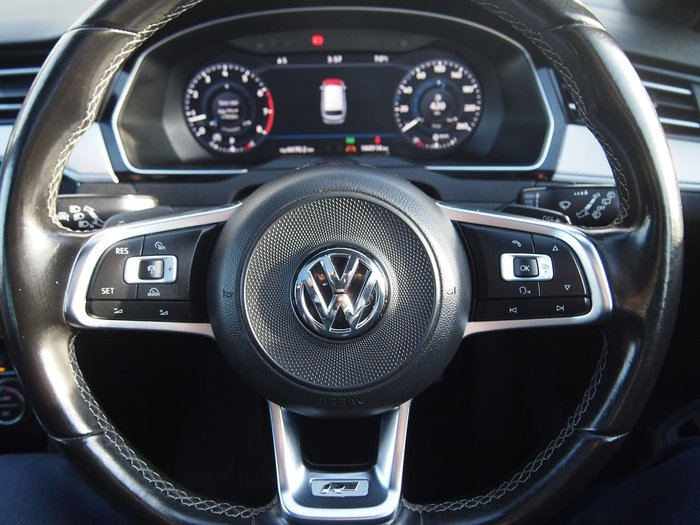 2017 Volkswagen Passat 206TSI R-Line B8 MY17 Four Wheel Drive Blue