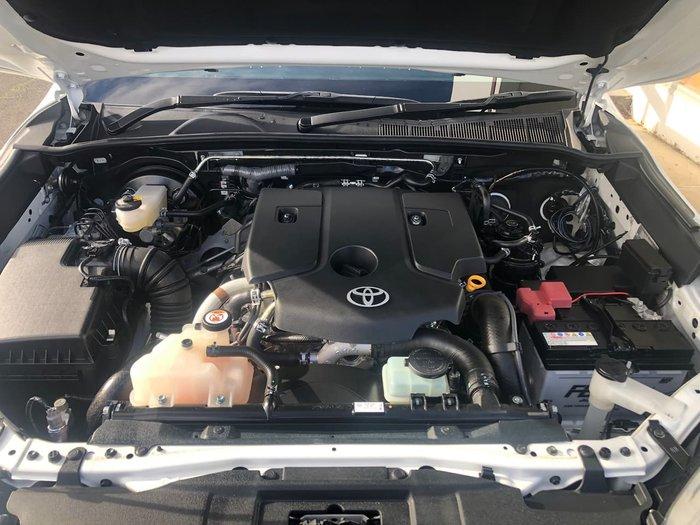 2020 Toyota Hilux SR5 GUN126R 4X4 Dual Range White
