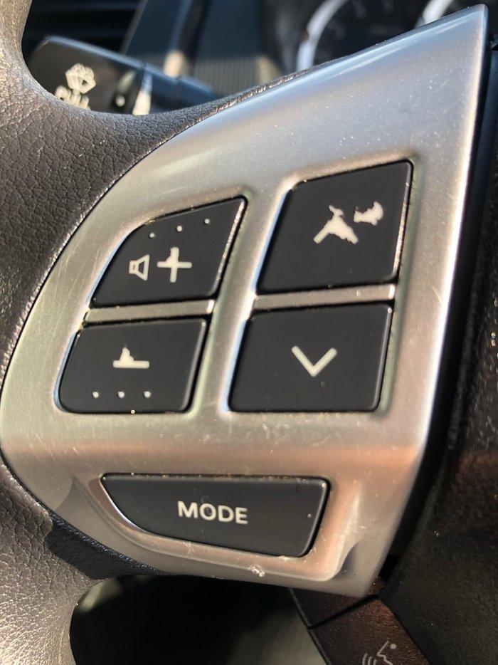 2015 Mitsubishi Triton GLX MN MY15 White