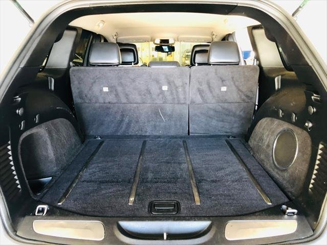 2012 Jeep Grand Cherokee Limited WK MY12 4X4 Constant Silver