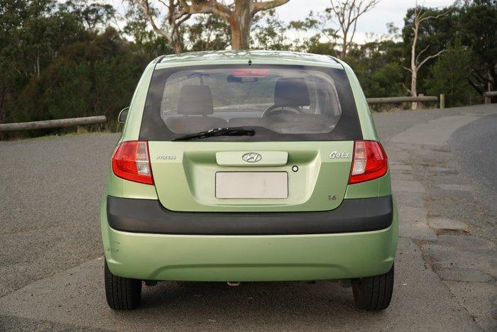 2009 Hyundai Getz SX TB MY09 Light Green