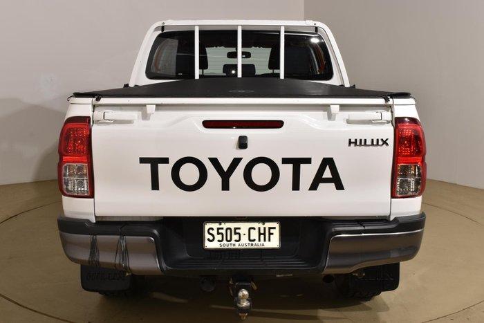 2015 Toyota Hilux SR GUN126R 4X4 Dual Range Glacier White