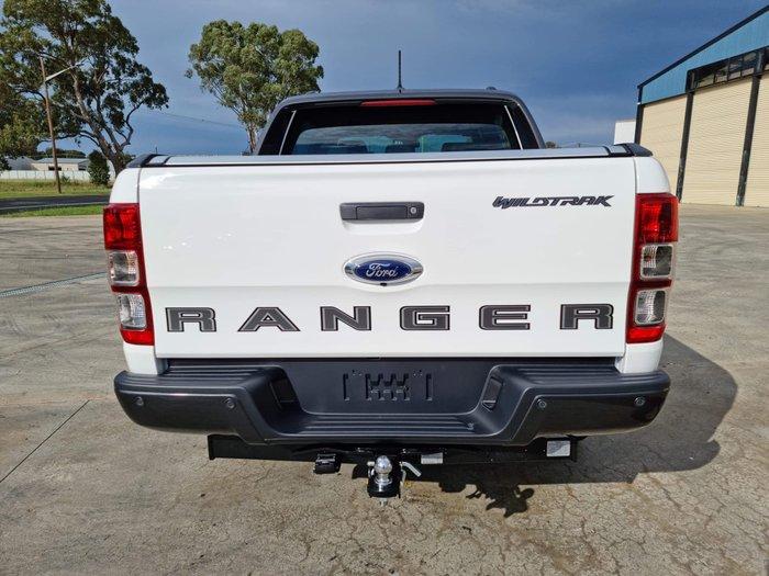 2021 Ford Ranger Wildtrak PX MkIII MY21.25 4X4 Dual Range Arctic White