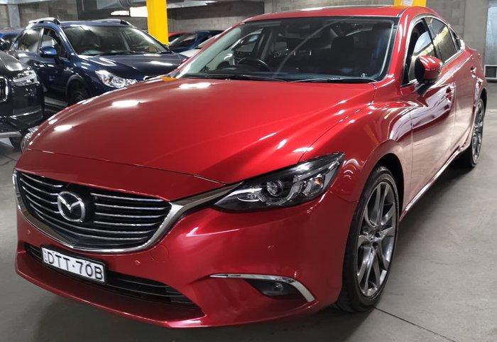 2017 Mazda 6 GT GL Series Red