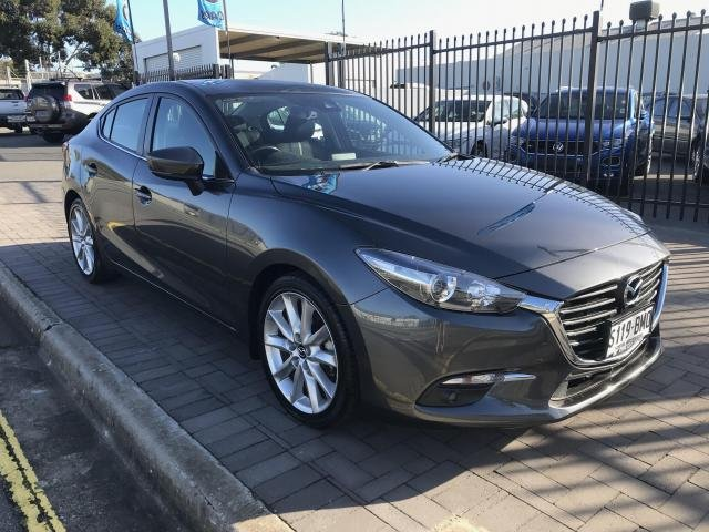 2016 Mazda MAZDA3 MAZDA3 L 6A SEDAN SP25 Machine Grey