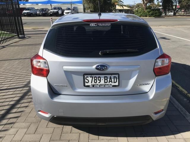 2013 SUBARU IMPREZA 2013 SUBARU IMPREZA 2.0i (AWD) 5D HATCHBACK 4CYL Silver
