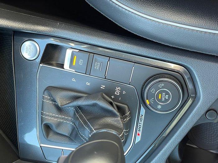 2018 Volkswagen Tiguan Wolfsburg Edition 5N MY19 Four Wheel Drive White