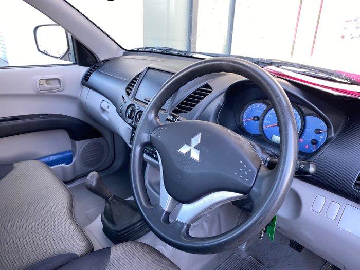 2008 Mitsubishi Triton GL ML MY08 Marble White