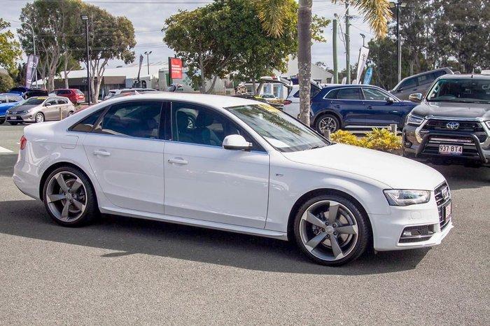 2015 Audi A4 S line plus B8 MY15 White