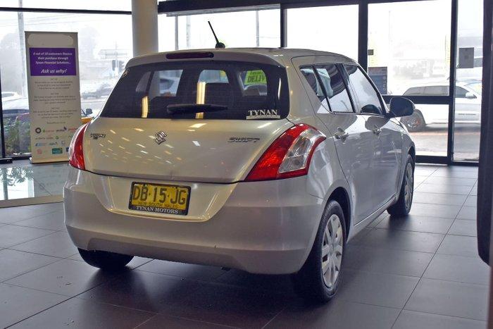 2011 Suzuki Swift GL FZ Silky Silver